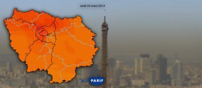 Le nouveau plan « air » de la région Île-de-France pour 2016-2021