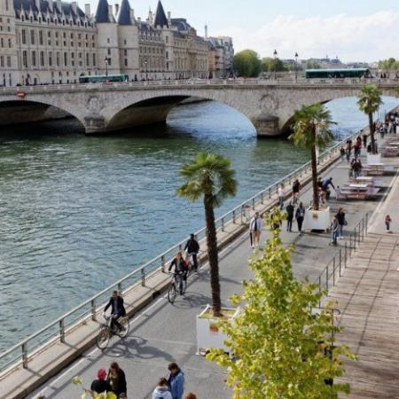 La CAA de Paris approuve la piétonnisation des voies sur berges